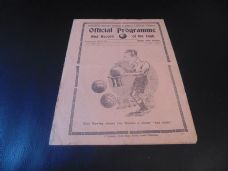Tottenham Hotspur Reserves v Crystal Palace Reserves, 1929/30